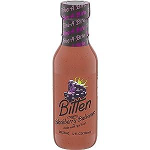 Bitten Blackberry Balsamic Salad Dressing (12 oz Bottle)