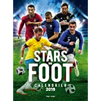 Calendrier mural Stars du foot 2019