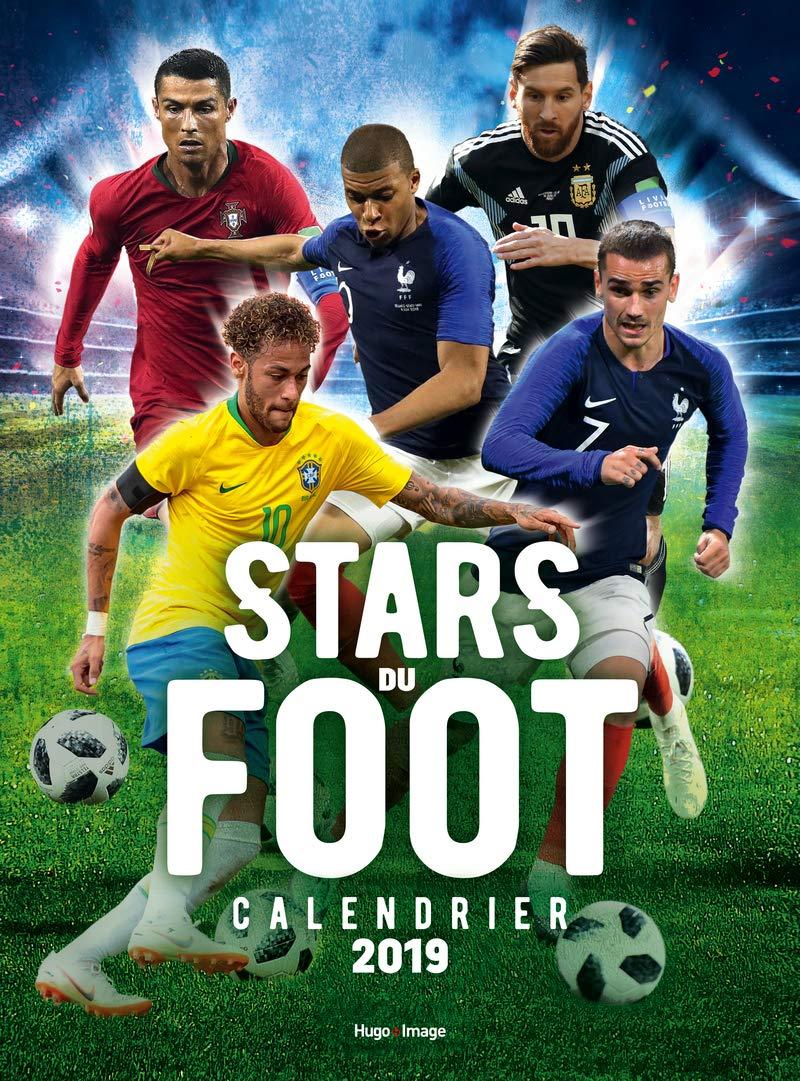 Calendrier Foot 2019 2020.Amazon In Buy Calendrier Mural Stars Du Foot 2019 Book