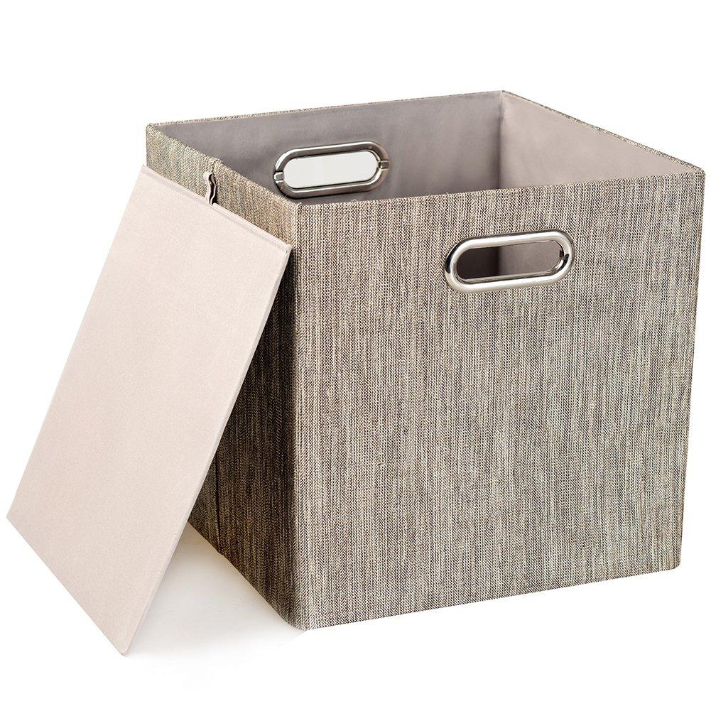 cube Posprica rangement pliablebacstissu de Panier qSVUMGzp