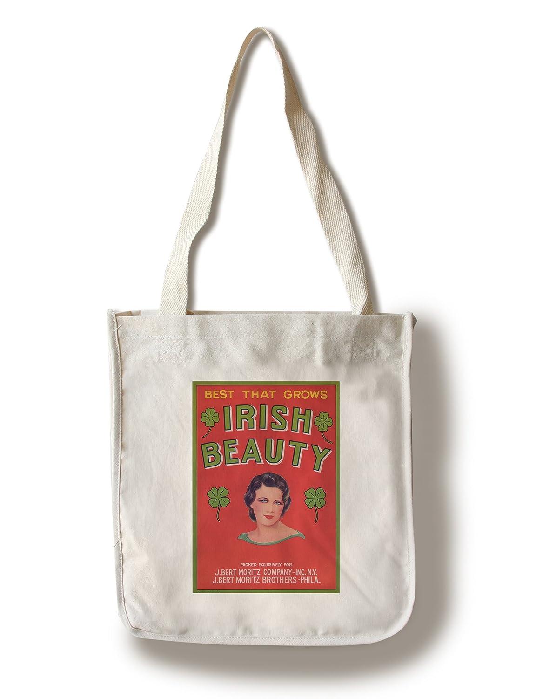 Irish Beauty Vegetableラベル Canvas Tote Bag LANT-1629-TT B0182QPF3K  Canvas Tote Bag
