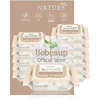 [Biodegradable] Bebesup Nature Gold Cap 20s Baby Wipes - Carton