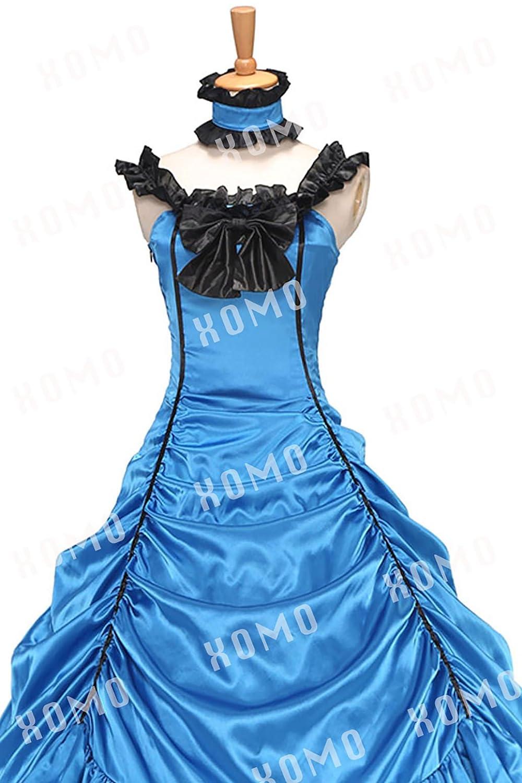 XOMO Southern Belle Civil War Off Shoulder Formal Dress Satin ...