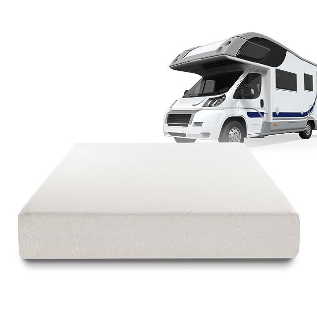 Zinus Deluxe Memory Foam 10 Inch RV / Camper / Trailer / Truck Mattress