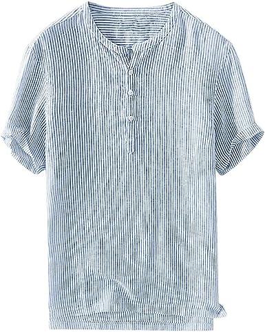 Fannyfuny camiseta Hombre Verano Polo Modelo Caballero Diario Blusas Top Slim Fit Camisetas Casuales Verano de Manga Corta T-Shirt Color Solido Básica Camisa: Amazon.es: Ropa y accesorios