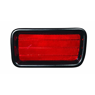 TarosTrade 42-5531-R-86454 Rear Bumper Reflector Up To 2004: Automotive