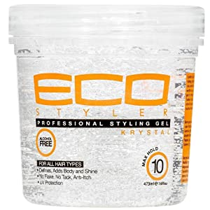 ECOCO EcoStyler Styling Gel Krystal, 32 oz (Pack of 3)