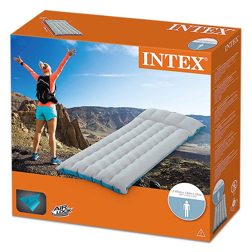Intex 67997 - Colchoneta hinchable de camping 67 x 184 x 17 cm: Amazon.es: Deportes y aire libre