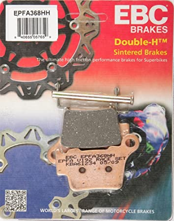 EBC Brakes EPFA434HH EPFA Double H Sintered Disc Brake Pad