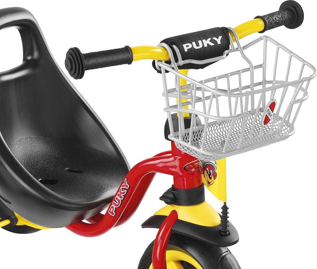 Puky 9119lkdr Brazo de Cesta Triciclo y Roller, Plata