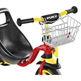 PUKY 9119 LKDR Lenker-Korb Dreirad und Roller, Silber