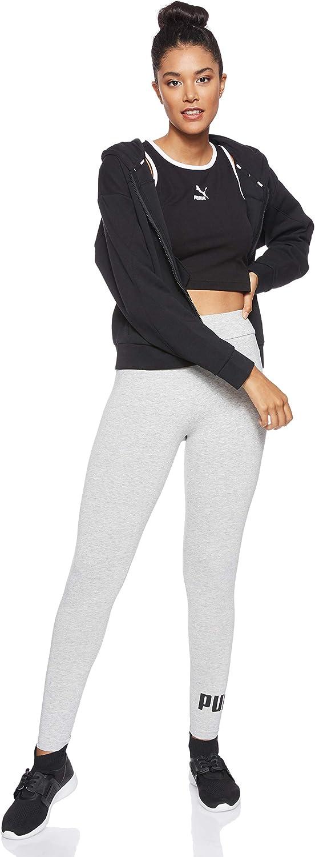 Puma Essential No.1 Logo Womens Ladies Sports Fitness Legging Grey