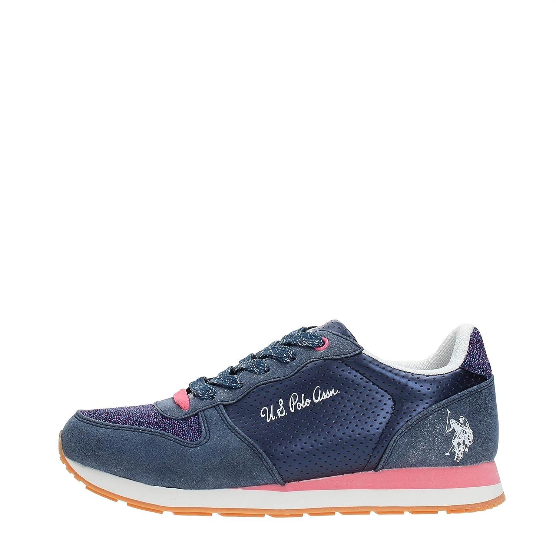 U.S. Polo Assn. VIOLA4177W7/Y1 Sneakers Mujer 39 EU Dkbl/Pink