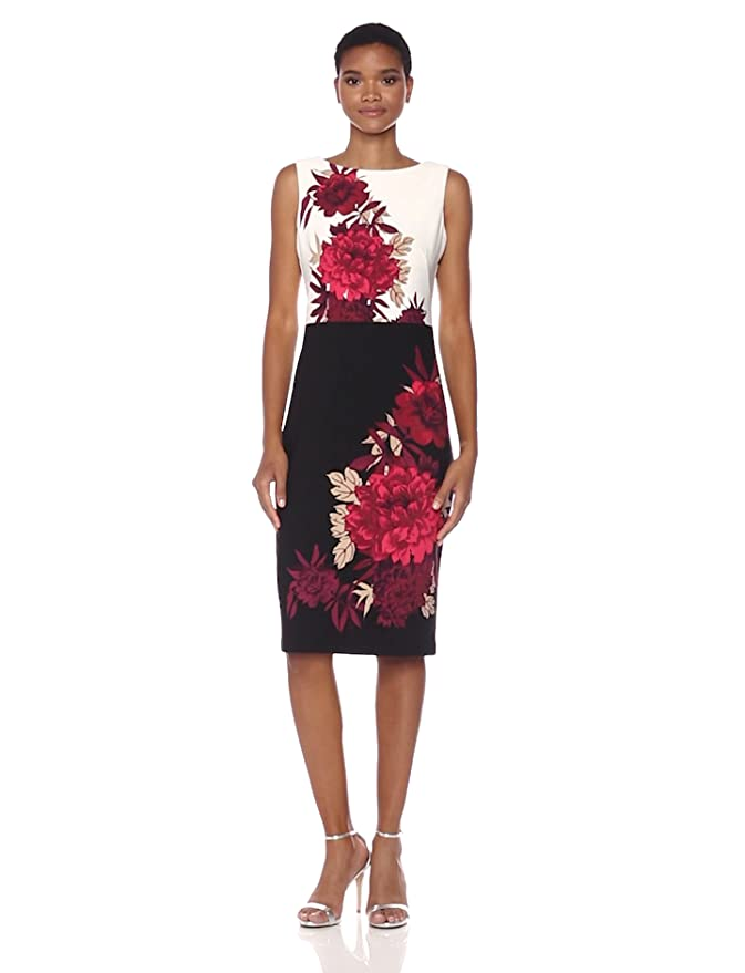 8a1ff472e3e Gabby Skye Women s Floral Midi Dress at Amazon Women s Clothing store