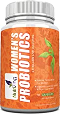 NutriZing's Bio-Cultures Supplement for Women ~ Specially Formulated for Female Health ~ Promotes Normal Feminine Hygiene & Digestive Health ~ 2.5 Billion CFUs per Capsule