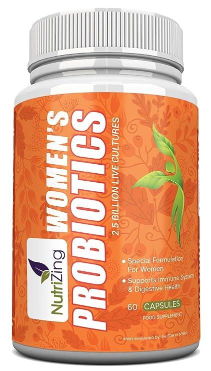 Suplemento Bio-cultures Para Mujeres NutriZing ~ Fórmula Especial Para la Salud Femenina ~ 2