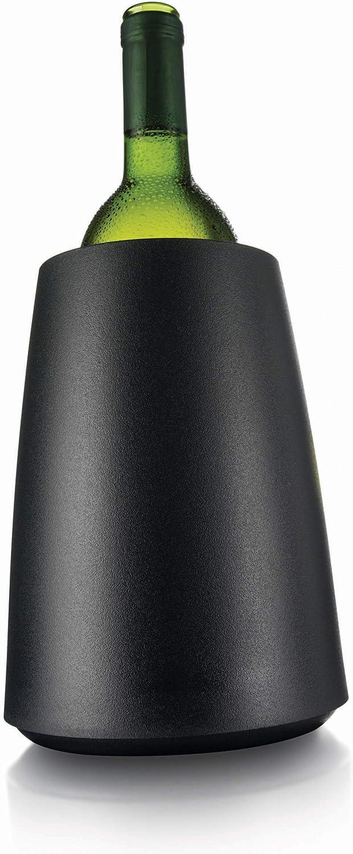 Vacu Vin 3649460 Cubitera/enfriador, plástico, Negro
