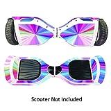 Pelle Per Hoverboard Elettrico Adesivi Hoverboard Stickers Cover Per Over Board - Coperture Per Real 2 Ruote Scooter - Adesivi Casi Per Motorizzati Longboard Alla Deriva Boards