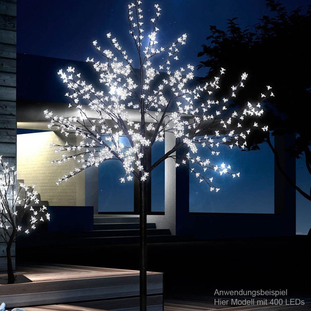 Fiori di ciliegio led 200 albero giardino illuminazione veranda ...