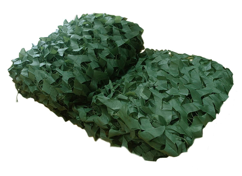 Xiuyun Rete da Camuffamento da Esterno in Tessuto Oxford Camouflage Net (colore   verde, Dimensioni   5M×6M)