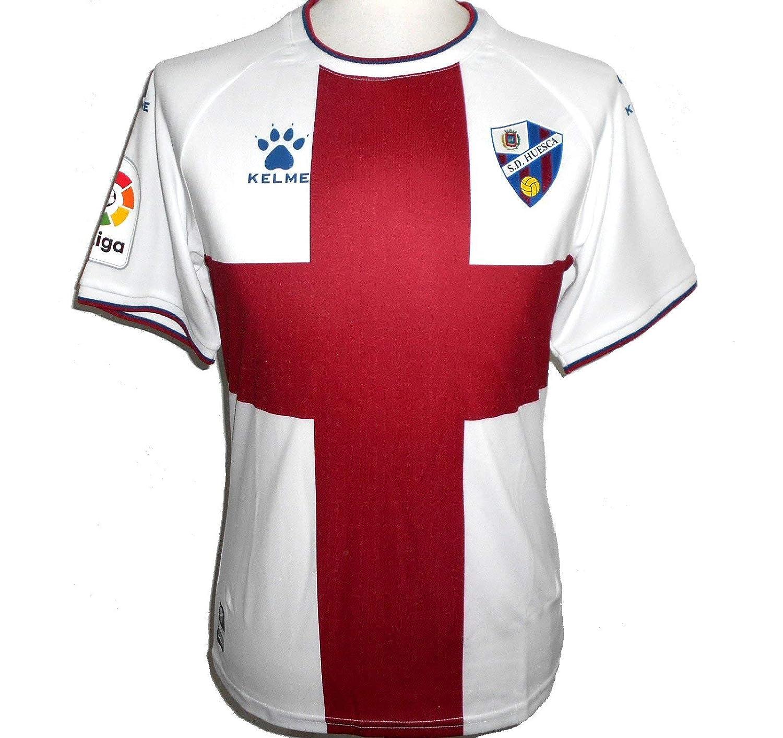 Camiseta de f/útbol para Hombre KELME S.D Huesca 2018-2019
