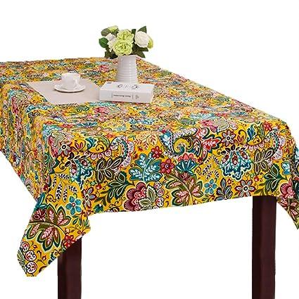 Tablecloth Vintage Stil Ethnique Américaine Imperméable Multi Use