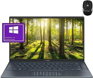 "2020 Flagship Asus Zenbook 14 Business Laptop 14"" FHD IPS Anti-Glare 100% sRGB AMD 8-Core Ryzen 7 4700U >i7-10710U 16GB RAM 2TB PCIe SSD NumberPad IR-Webcam Wifi6 Win10 Pro MIL-STD 810G + iCarp Mouse"" /></a></div> <div class="