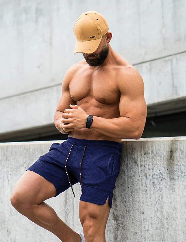 Ultra Leggeri con Tasca Jogging Pantaloncini da Corsa da Uomo per Palestra Traspiranti Ciclismo Coofandy Allenamento