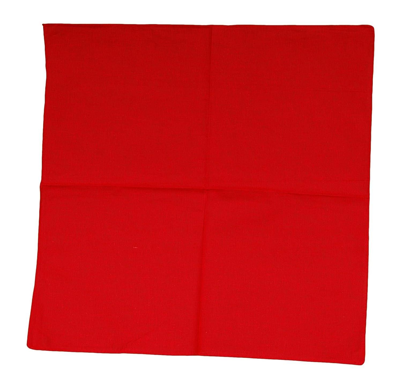 Plain-Red Bandana Scarf Head Scarf Neck Scarf Paisley Various Colours Unisex Men Women Bandana Scarf