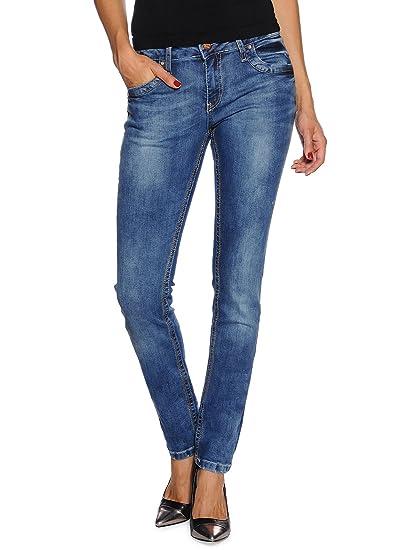 online hier super beliebt tolle Preise Rusty Neal Women's Jeans Blue Blue: Amazon.co.uk: Clothing