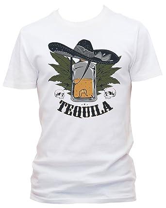 Worm T-shirt homme super fête Tequila  Amazon.fr  Vêtements et accessoires 7d217135aa82