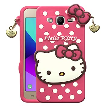 Dgeot Cute Hello Kitty Back Case Compatible With Amazon In Electronics