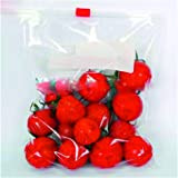 "ZIPZAG Plastic Zipper Seal Food Storage Bags Loose Pack of 10(11"" X 11""),Large Size"