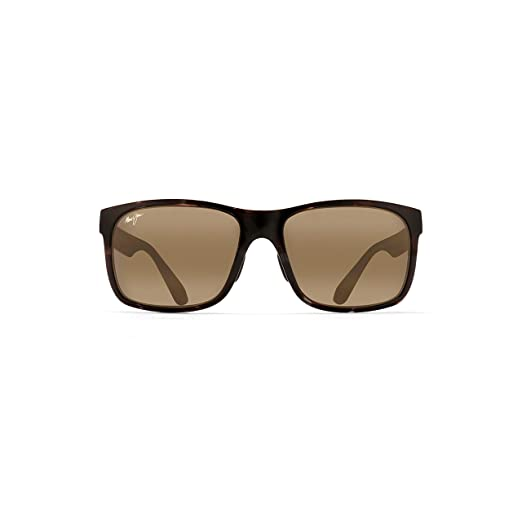 03a96d73be650b Amazon.com  Maui Jim Red Sands H432-11T   Sunglasses, Black and Grey ...