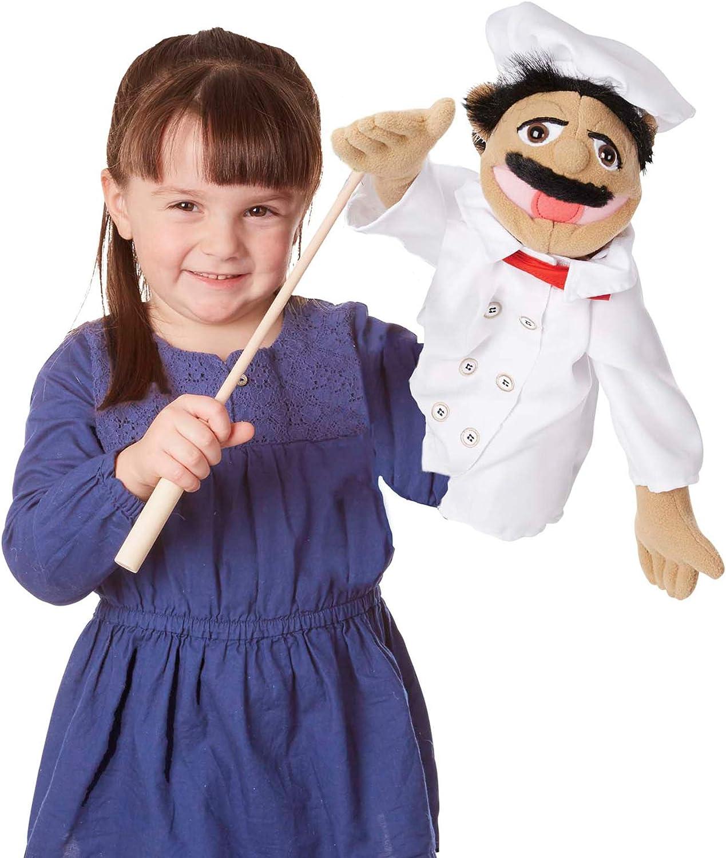B00272N8NA Melissa & Doug Chef Puppet 71pvlWChQ-L