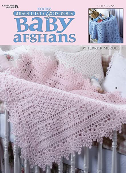 Amazon Leisure Arts Gorgeous Baby Afghans Book 4 Terry