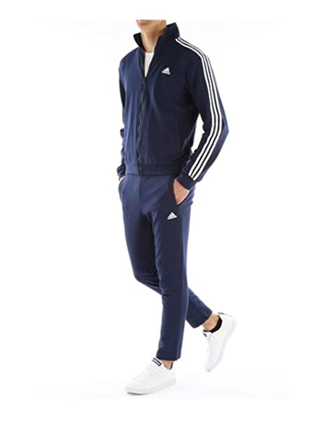 b48a778573 adidas Tuta da Uomo Blu Navy Relax Taglia M: Amazon.it: Sport e ...