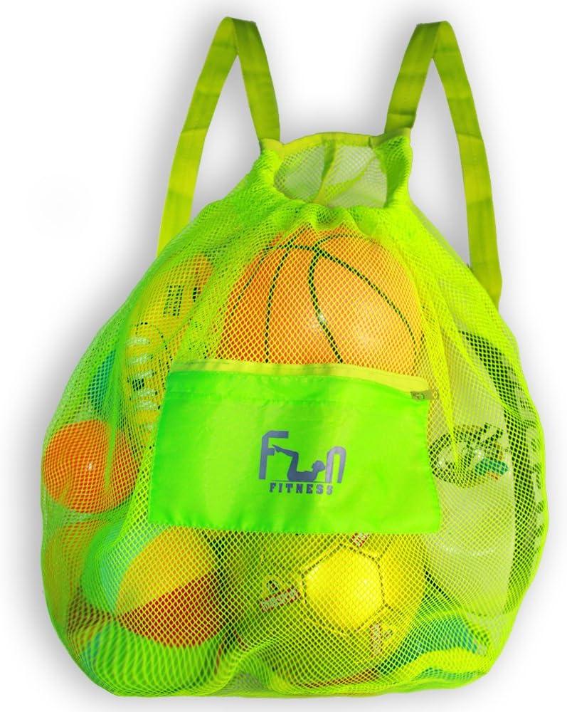 FunFitness - Mochila grande para balón de fútbol, baloncesto, natación, piscina