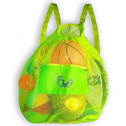 689622ca7267 Amazon.com   MESH SPORTS BAG - Large Backpack for Soccer Ball ...