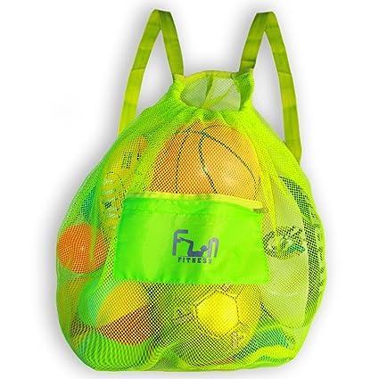 Amazon.com   MESH SPORTS BAG - Large Backpack for Soccer Ball ... c62101b70c9e2