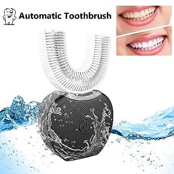 Oshide Full-automatic Frecuencia variable 360 ° Cepillo de dientes eléctrico ultrasónico Dientes Dispositivo de blanqueamiento con luz fría Cepillo ...