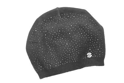 Sombrero mujer GIANMARCO VENTURI gris gorro color sólido