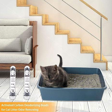Destinely Perlas de Desodorante para Mascotas Arena para Gatos ...