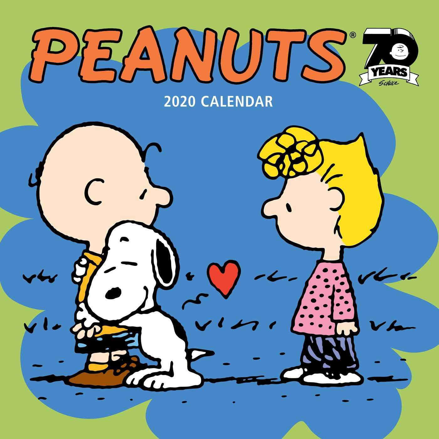 Calendario Snoopy 2020.Peanuts 2020 Calendar Amazon It Peanuts Worldwide Llc