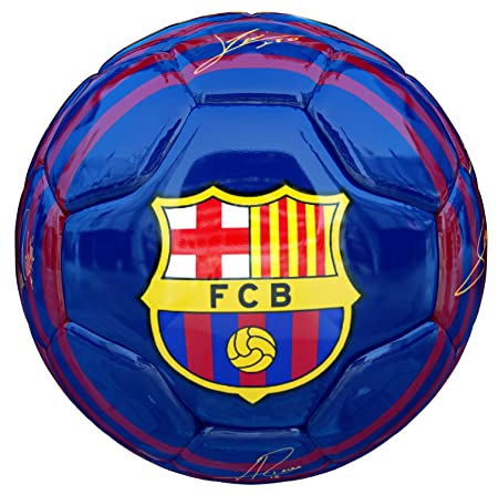 FCB Balon FC Barcelona Primera Equipacion 18 19 Azul Brillo ...