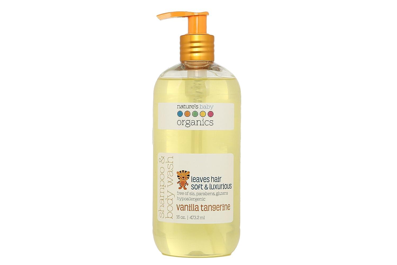 Nature's Baby Organics Shampoo & Body Wash, Vanilla Tangerine