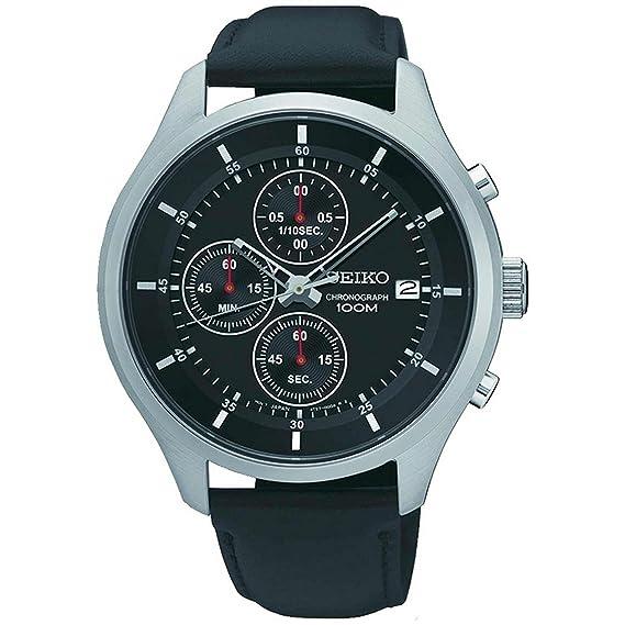 Reloj SEIKO Neo Sports SKS539P2 Hombre Plateado Silicona Crónografo