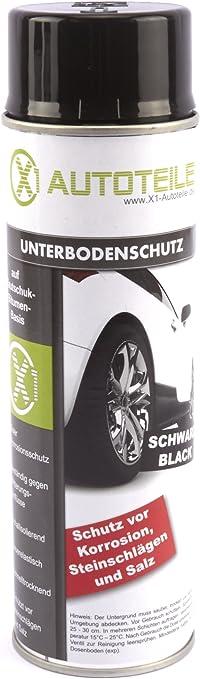 X1 Unterbodenschutz Bitumen Schwarz 500ml Spray Ubs Auto