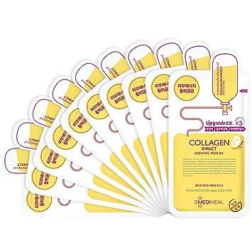 Amazon Com Mediheal Collagen Impact Essential Mask Ex 25ml Pack