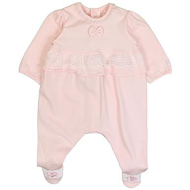 4e2983f3e2d2b Emile et Rose - Grenouillère - Bébé (fille) 0 à 24 mois rose Rosa:  Amazon.fr: Vêtements et accessoires